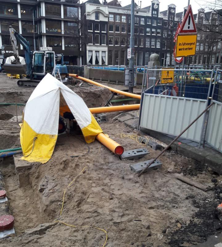 HDPE laswerkzaamheden Amsterdam